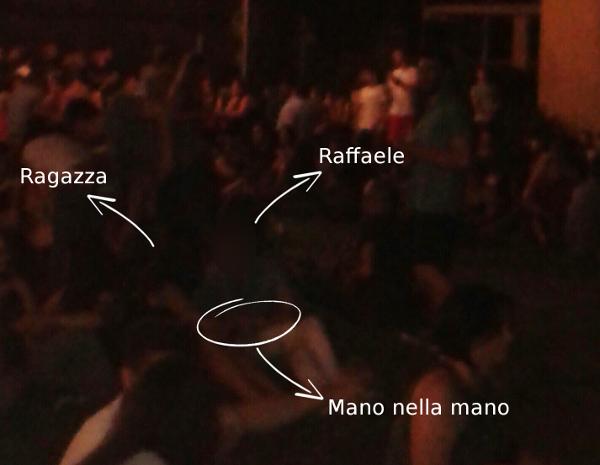 Raffaele e ragazza