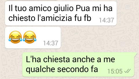 Giulio Pua - WhatsApp
